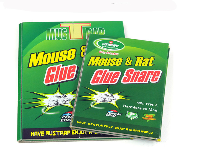 Free Shipping Mouse Board Sticky Rat Glue Trap Mouse Glue